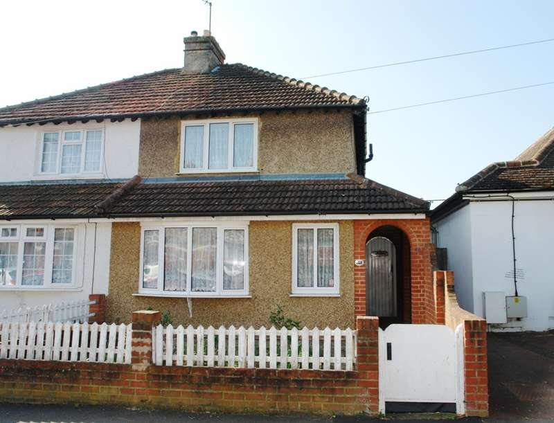 3 Bedrooms Semi Detached House for sale in Tolworth Park Road, Tolworth, Surbiton