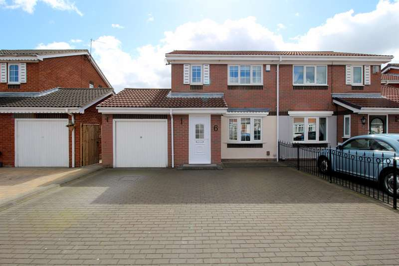 3 Bedrooms Semi Detached House for sale in Kirkwall Close, Fulford Grange, Sunderland, SR5 3DL