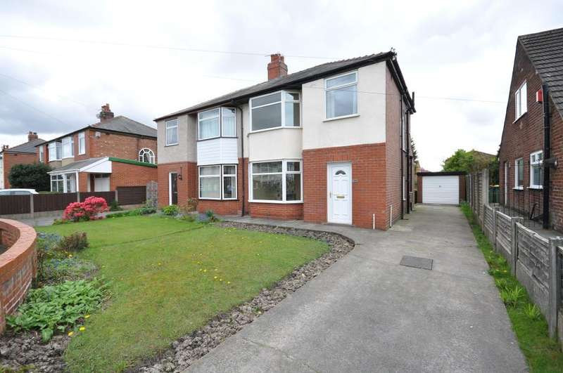 3 Bedrooms Semi Detached House for sale in Hillcrest Avenue, Ingol, Preston, Lancashire, PR2 3UP