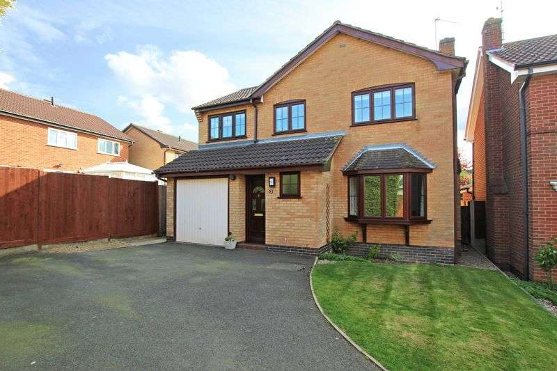 4 Bedrooms Detached House for sale in Granary Close, Glenfield
