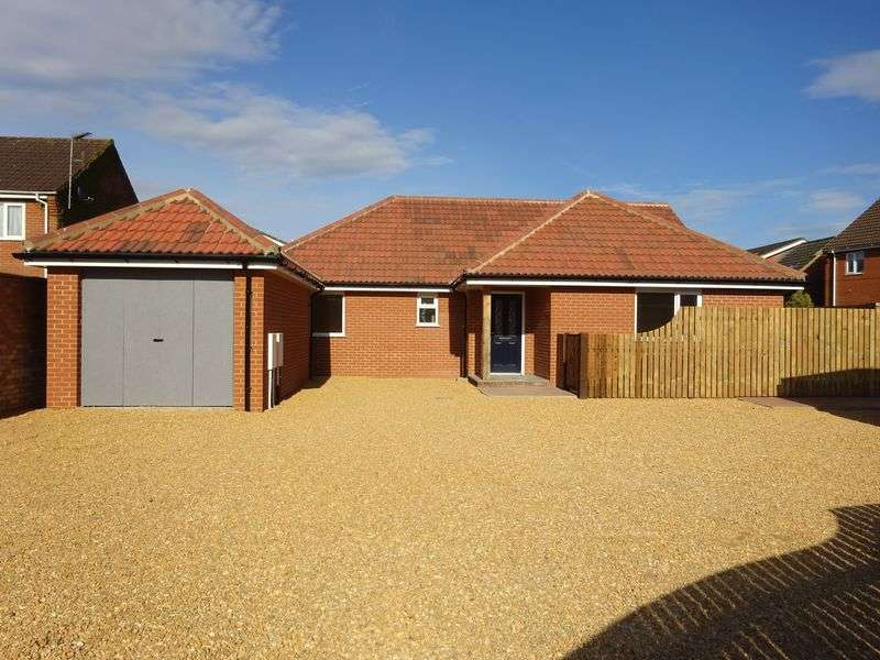 3 Bedrooms Detached Bungalow for sale in Holt Road, Horsford, Norwich
