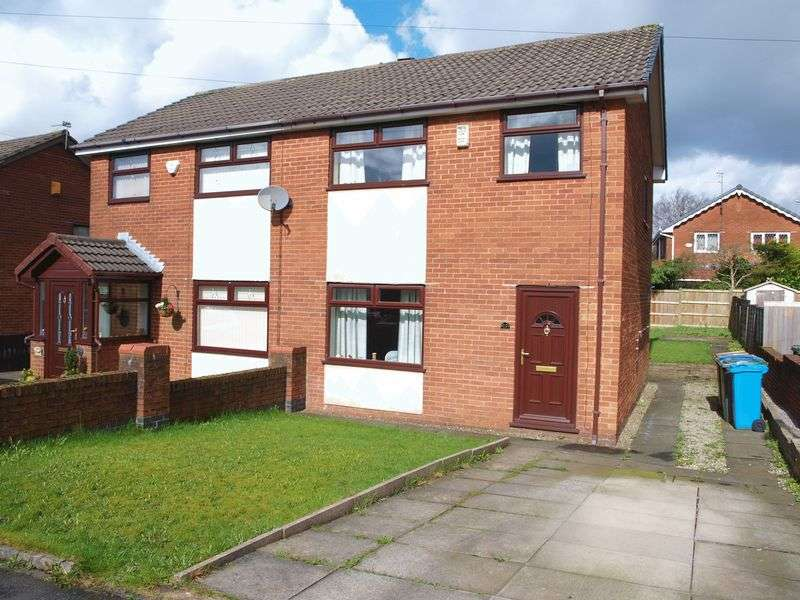 3 Bedrooms Semi Detached House for sale in Collier Avenue, Milnrow, OL16 3UY