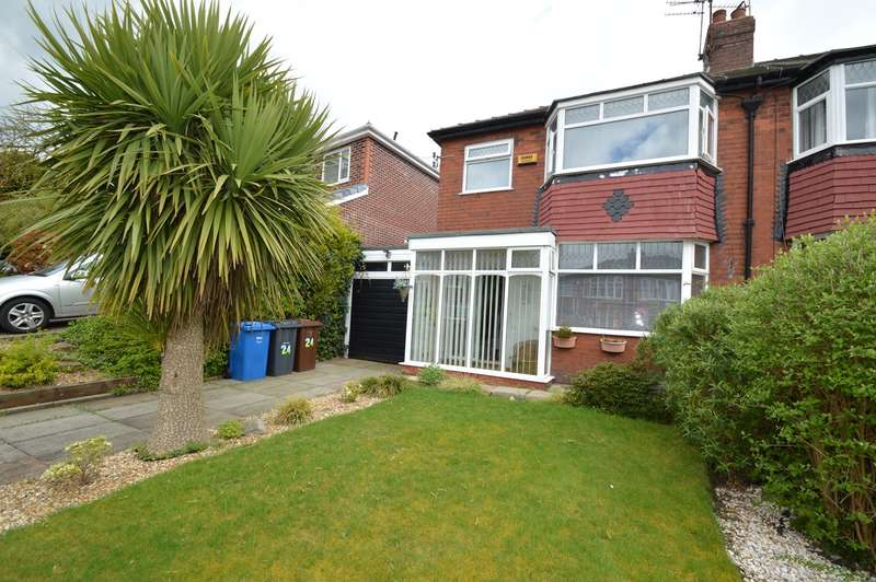 3 Bedrooms Semi Detached House for sale in Beckley Avenue, Prestwich, Manchester, M25