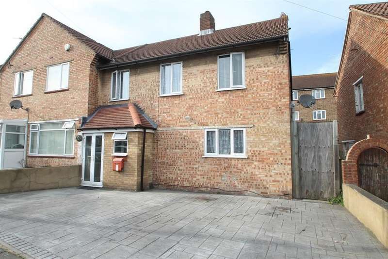 3 Bedrooms Semi Detached House for sale in Birling Road, Erith, Kent, DA8 3JQ