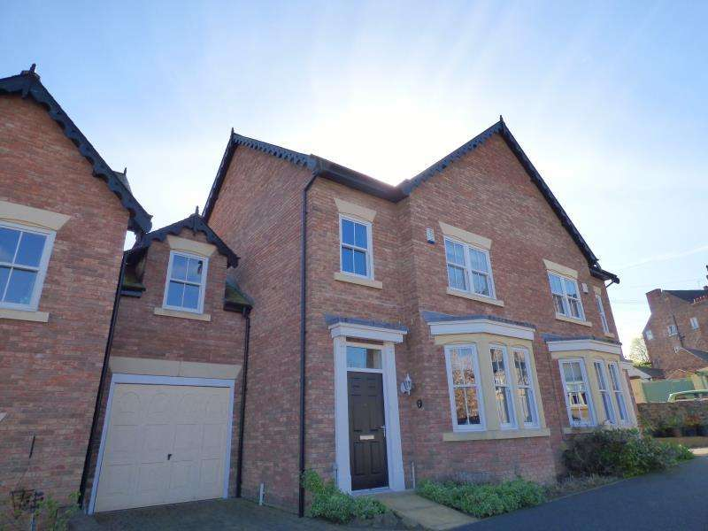 5 Bedrooms Town House for sale in CAXTON VIEW, RIPON, HG4 1GY