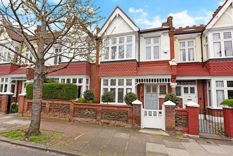 4 Bedrooms Terraced House for sale in Wincanton Road, SW18
