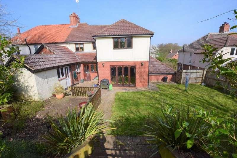 4 Bedrooms Semi Detached House for sale in Lamarsh Road, Alphamstone