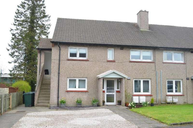 2 Bedrooms Semi Detached House for sale in Mains Avenue, Lower Flat, Helensburgh, Argyll Bute, G84 8QW