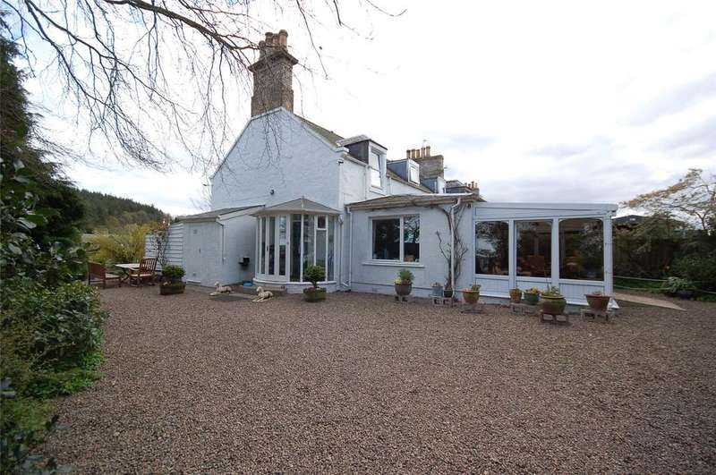 3 Bedrooms End Of Terrace House for sale in The Cottage, Stichill Home Farm, Kelso, Scottish Borders, TD5