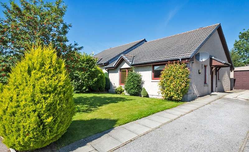 2 Bedrooms Semi Detached House for sale in Sunny side Avenue, DRumoak, Aberdeenshire, AB31