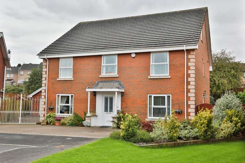 6 Bedrooms Detached House for sale in Brentwood Place, Ebbw Vale, Blaenau Gwent, NP23