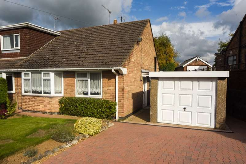 2 Bedrooms Bungalow for sale in Brookfields Drive, Derby, Derbyshire, DE21