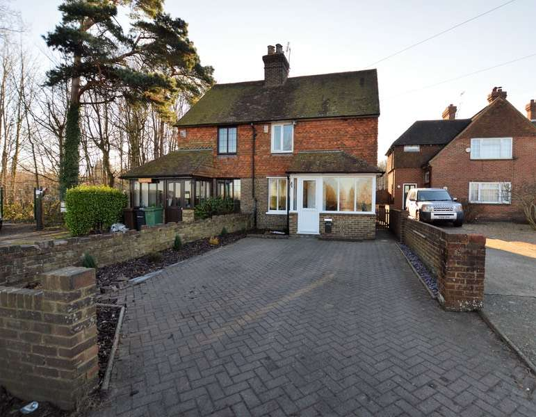 3 Bedrooms Semi Detached House for sale in Wykeham Cottages Heath Road, Maidstone, Kent, ME17