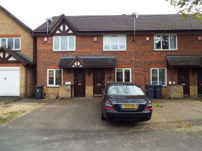 2 Bedrooms Terraced House for sale in Hawthorn Close, Erdington, Birmingham, West Midlands