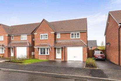 4 Bedrooms Detached House for sale in Laxton Crescent, Evesham, Worcestershire
