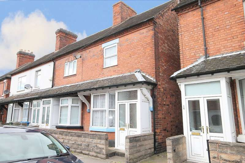 2 Bedrooms End Of Terrace House for sale in Alfred Street, Tamworth, B79 7RL