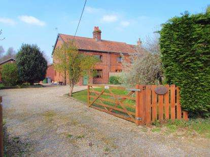 3 Bedrooms Semi Detached House for sale in North Burlingham, Norwich, Norfolk