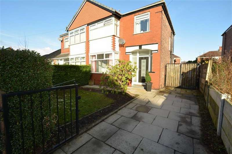 3 Bedrooms Semi Detached House for sale in Bradwell Avenue, STRETFORD