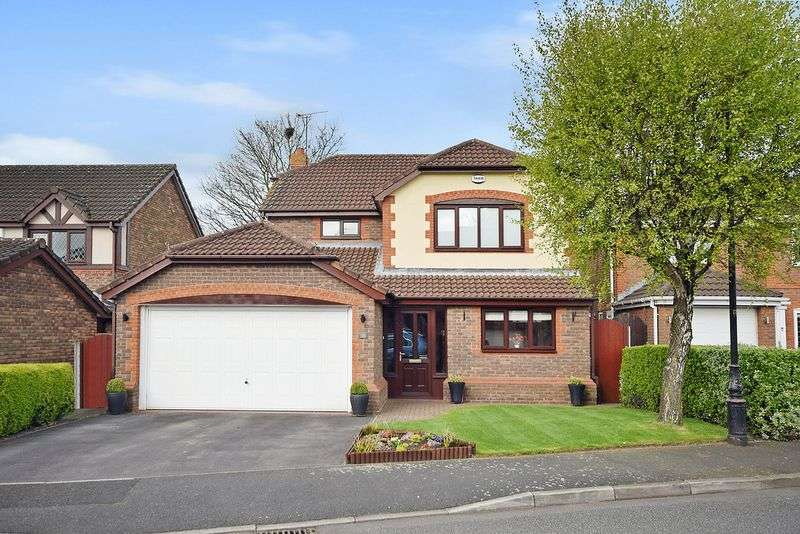 4 Bedrooms Detached House for sale in Upton Grange, Widnes