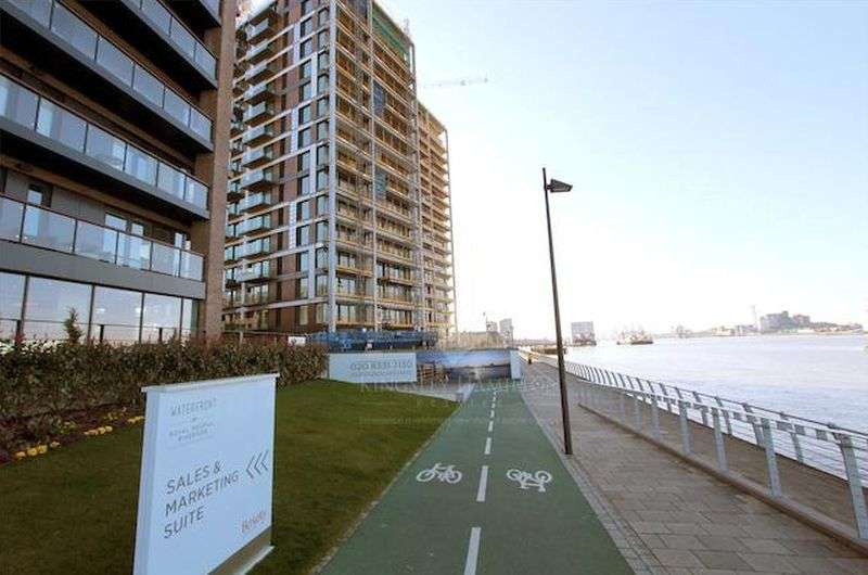 1 Bedroom Flat for sale in Waterfront I, Royal Arsenal Riverside, Woolwich