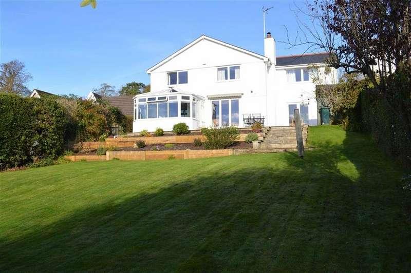 4 Bedrooms Detached House for sale in Castle Hill, Llanblethian