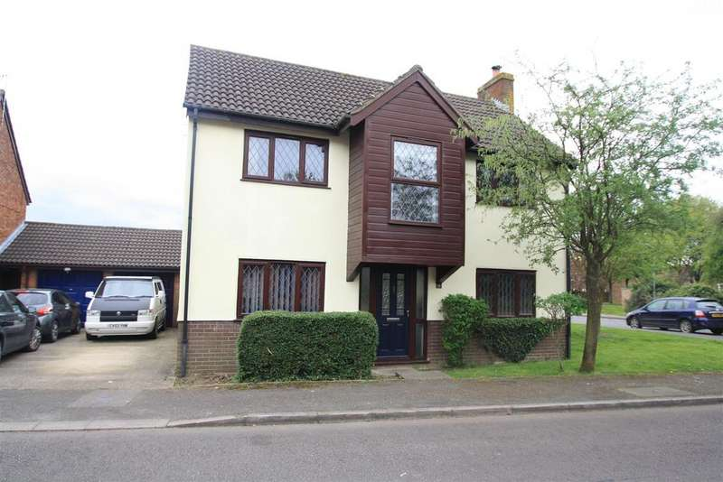 4 Bedrooms Detached House for sale in Kincardine Drive, Bletchley, Milton Keynes