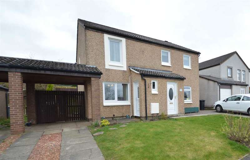 2 Bedrooms Semi Detached House for sale in Torranyard Terrace, Hamilton