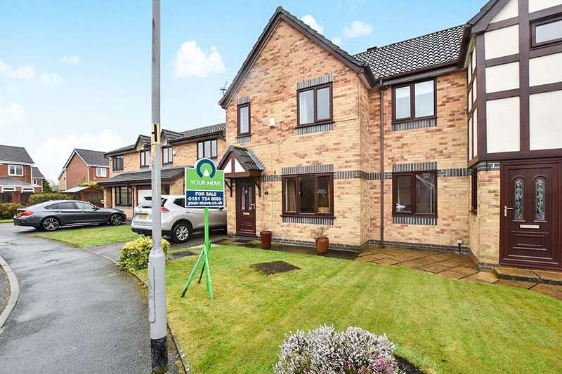 3 Bedrooms Semi Detached House for sale in Haseley Close, Radcliffe, Manchester, M26