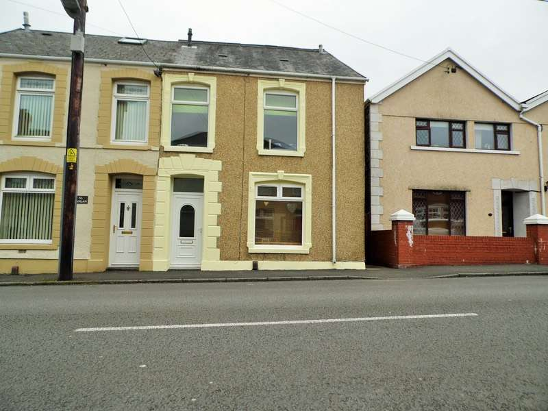 3 Bedrooms Semi Detached House for sale in Dyffryn Road, Swansea, Swansea, SA4