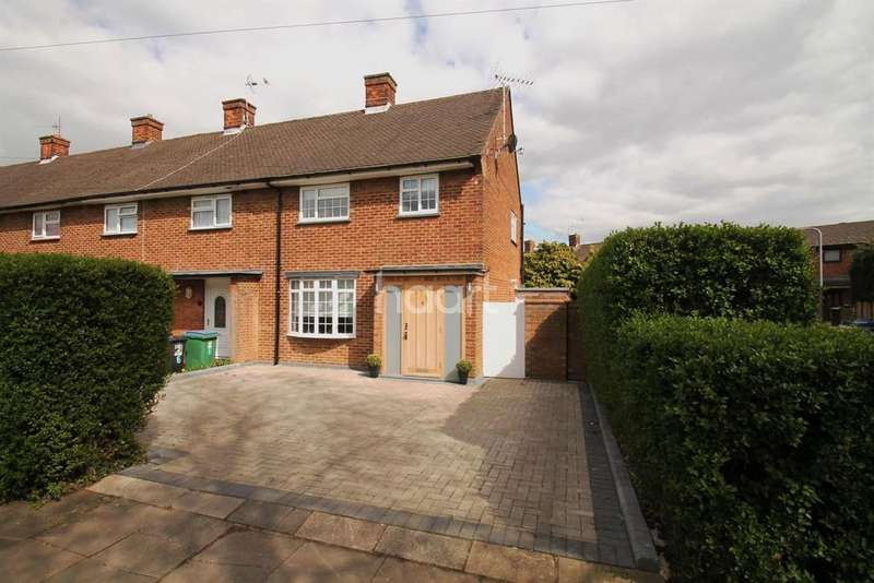 3 Bedrooms End Of Terrace House for sale in Hill Farm Avenue, Watford, WD25