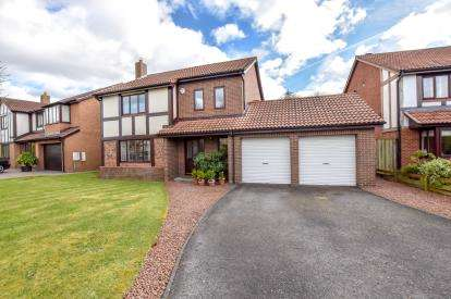 4 Bedrooms Detached House for sale in Berkeley Close, Killingworth, Newcastle Upon Tyne, Tyne and Wear, NE12