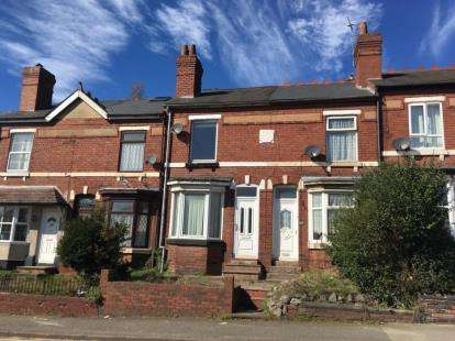 2 Bedrooms Terraced House for sale in Hednesford Road, Cannock, Staffordshire