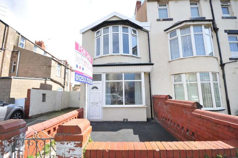 2 Bedrooms End Of Terrace House for sale in Bond Street, Blackpool, Lancashire, FY4 1HW