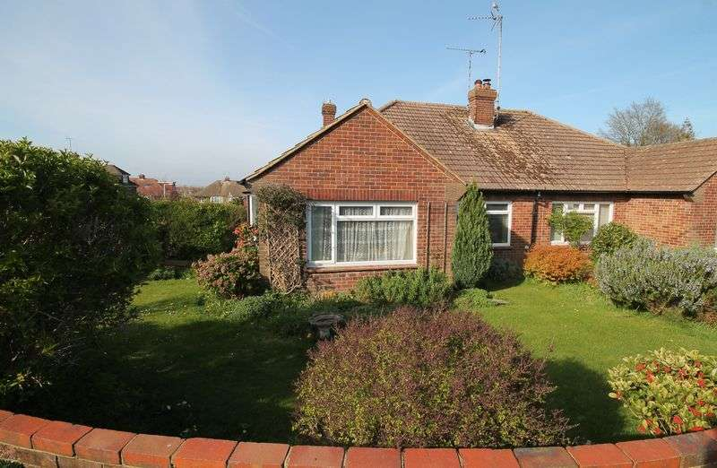 2 Bedrooms Semi Detached Bungalow for sale in Manor Gardens, Hurstpierpoint, West Sussex,