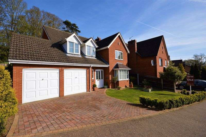 4 Bedrooms Detached House for sale in Shakespeare Way, Taverham