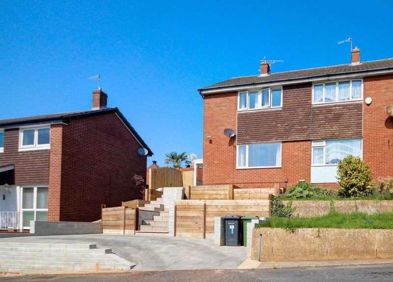 3 Bedrooms Semi Detached House for sale in Beverley Close, Exeter