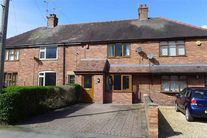 2 Bedrooms Terraced House for sale in Wybunbury Road, Willaston, Nantwich