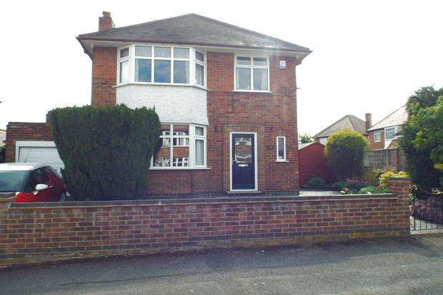 3 Bedrooms Detached House for sale in Charlbury Road, Wollaton, Nottingham, NG8