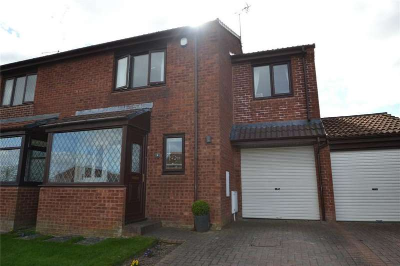 3 Bedrooms Semi Detached House for sale in Bywell Drive, Peterlee, Co Durham, SR8