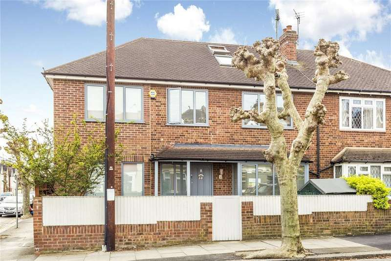 5 Bedrooms Semi Detached House for sale in Albert Grove, London, SW20