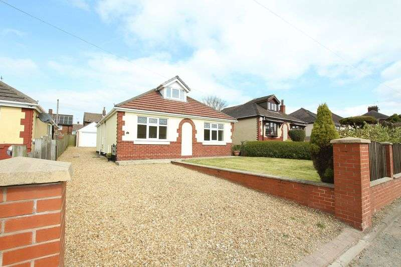 4 Bedrooms Detached Bungalow for sale in Park Lane, Knypersley, Biddulph