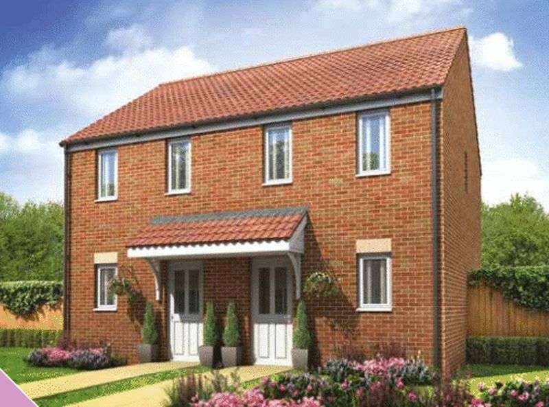 2 Bedrooms Semi Detached House for sale in Lyne Hill Meadow, Penkridge