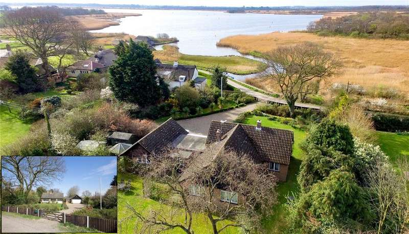 3 Bedrooms Detached Bungalow for sale in Hill Common, Hickling, Norfolk, NR12