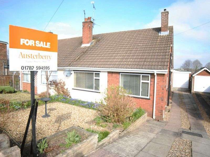 3 Bedrooms Semi Detached Bungalow for sale in Ansmede Grove, Blurton, Stoke-On-Trent, ST3 3BE