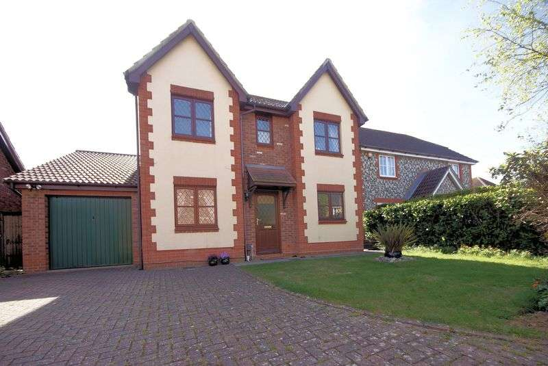 4 Bedrooms Detached House for sale in Grafton Close, Priddys Hard, Gosport