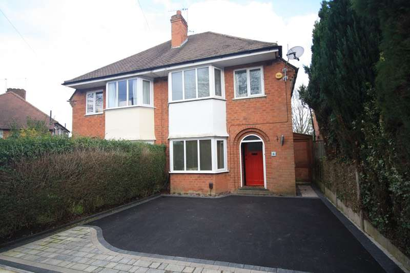 3 Bedrooms Semi Detached House for sale in Loxley Avenue, Birmingham, West Midlands, B14
