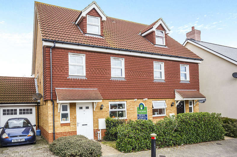 4 Bedrooms Semi Detached House for sale in Lady Winter Drive, Minster On Sea, Sheerness, ME12