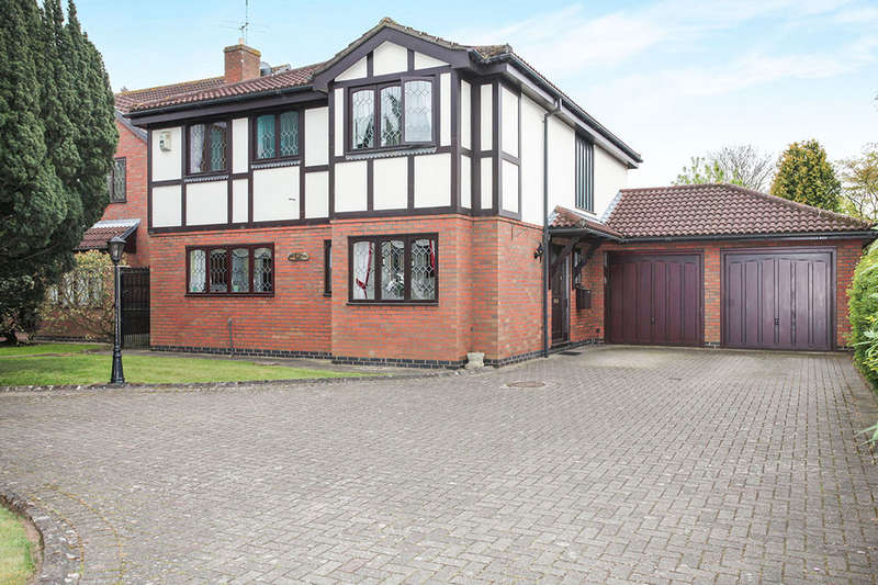 4 Bedrooms Detached House for sale in Lutterworth Road, Nuneaton, CV11