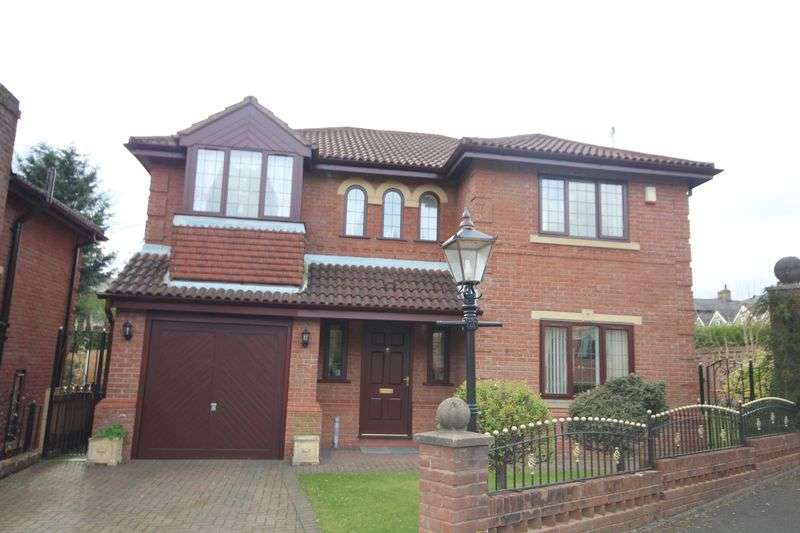 4 Bedrooms Detached House for sale in HILLKIRK DRIVE, Shawclough, Rochdale OL12 7HD