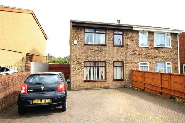 3 Bedrooms Semi Detached House for sale in Churchward Drive, NEWPORT
